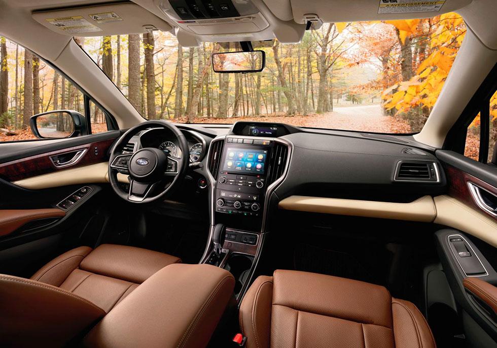 Sjusitsiga Subaru Ascent dyker upp