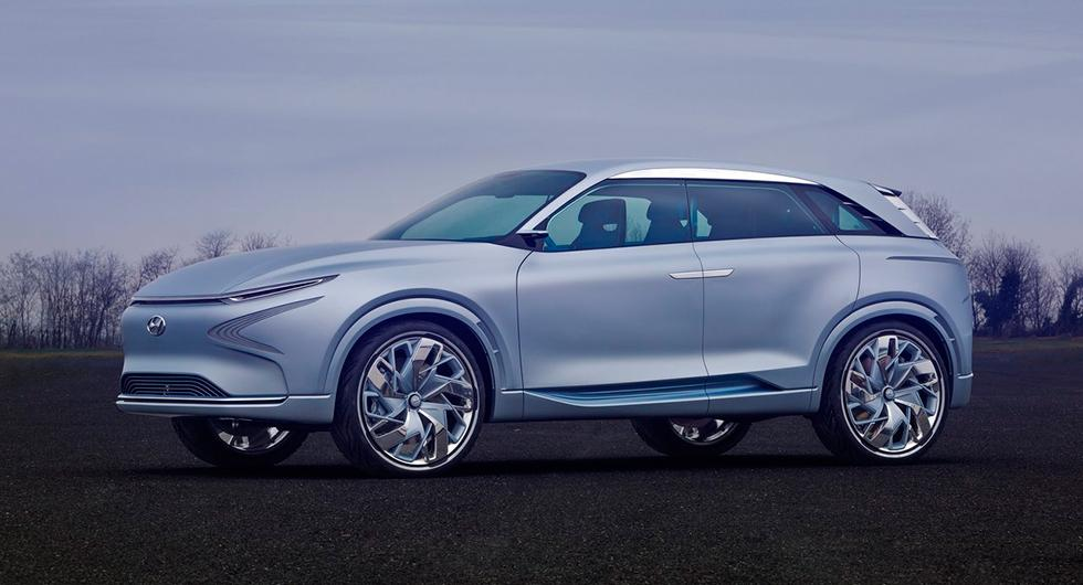Hyundai FE Fuel Cell Concept presenterades våren 2017.