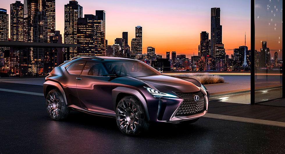 Lexus UX Concept från 2016.