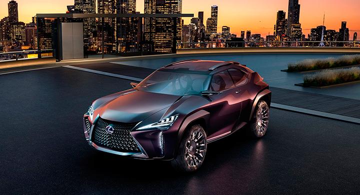Utseendet på Lexus UX