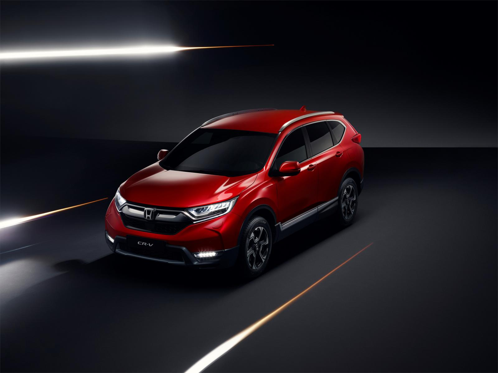 Honda CR-V - nu som hybrid