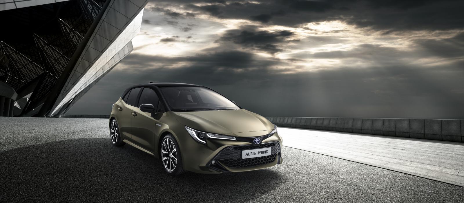 Nya Auris med fokus på hybridmotorer