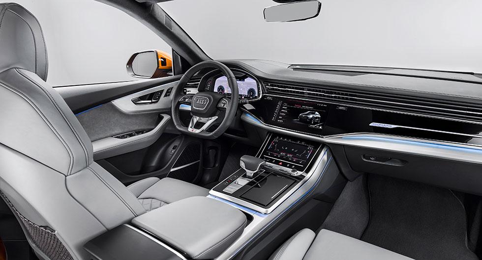 Här är Audi Q8