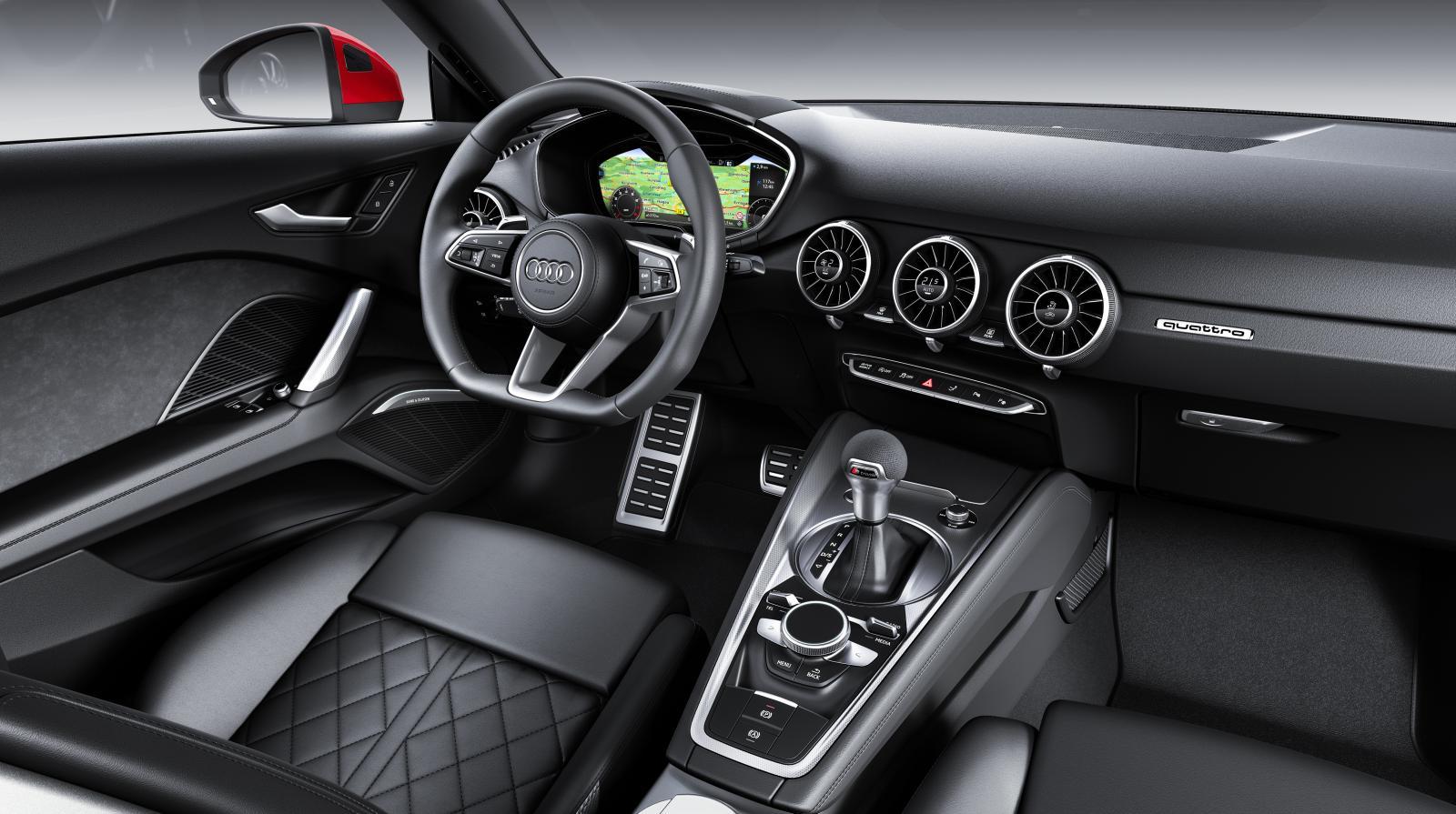 Audi TT uppdateras