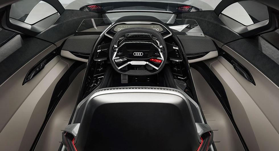Flexibel förarplats i Audi PB18 e-tron