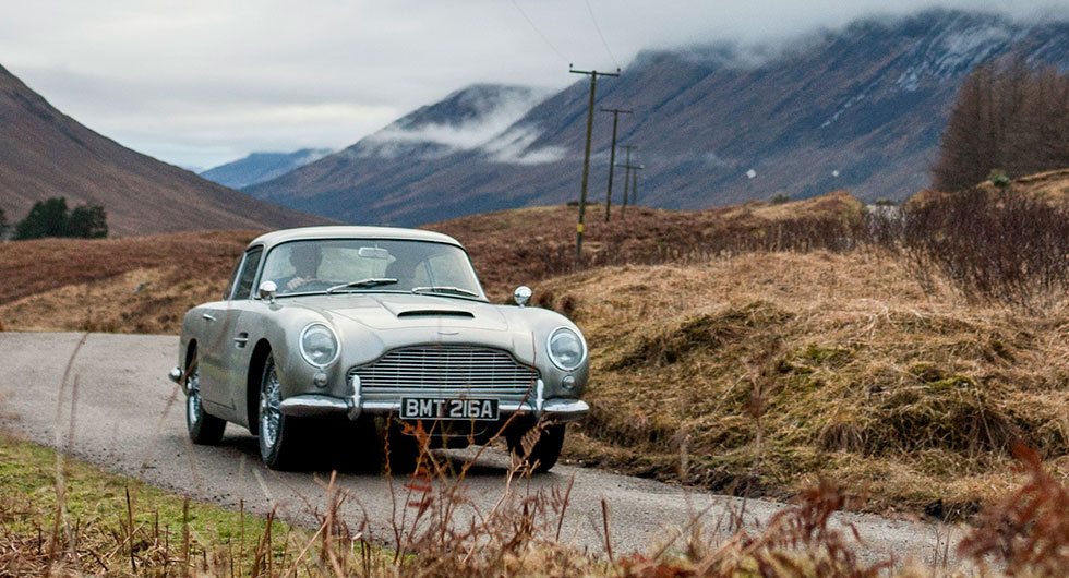 Aston Martin kopierar ikonisk Bondbil