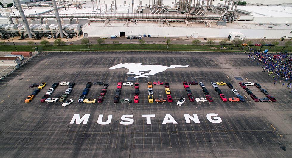 Milstolpe för Mustang
