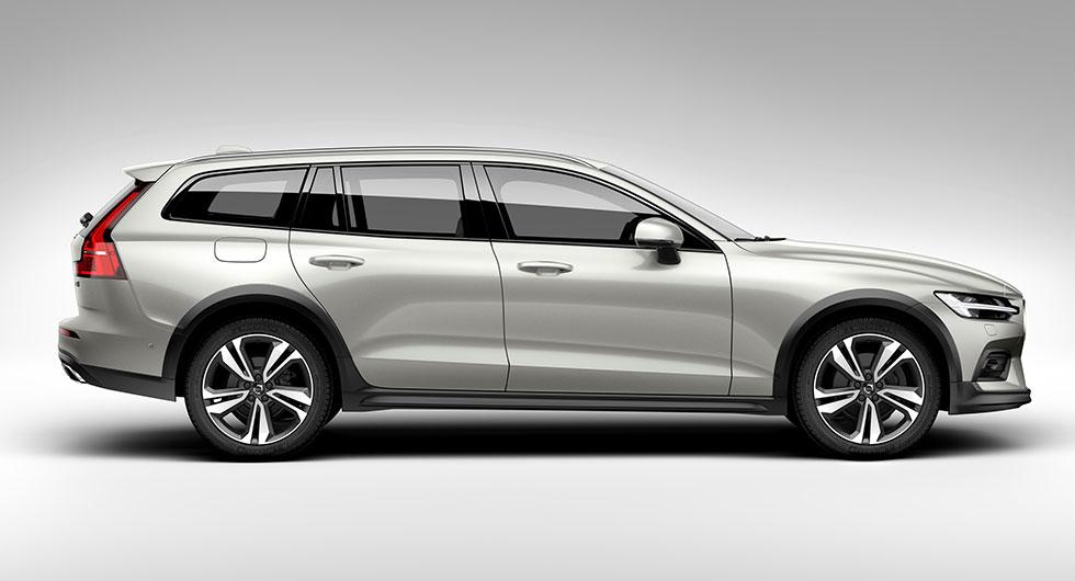 ... och det verkliga resultatet av Volvo V60 Cross Country.