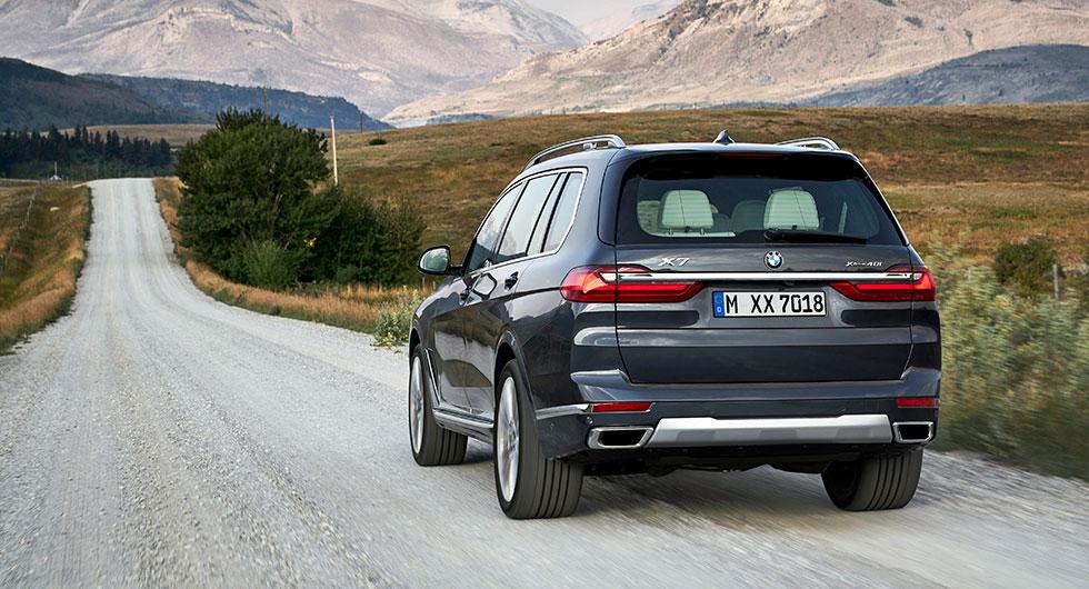 Nya BMW X7 – rekordgrillad bjässe