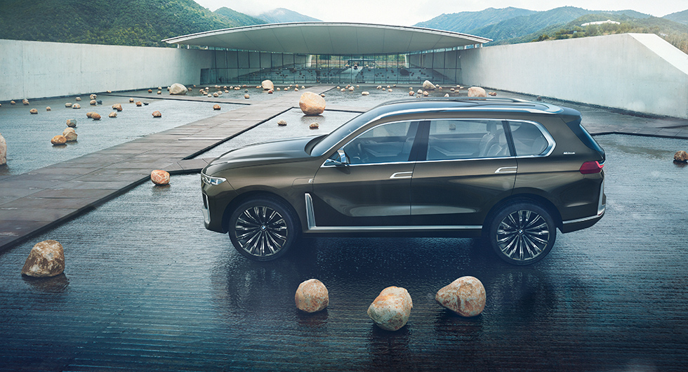 BMW X7 performance Concept.