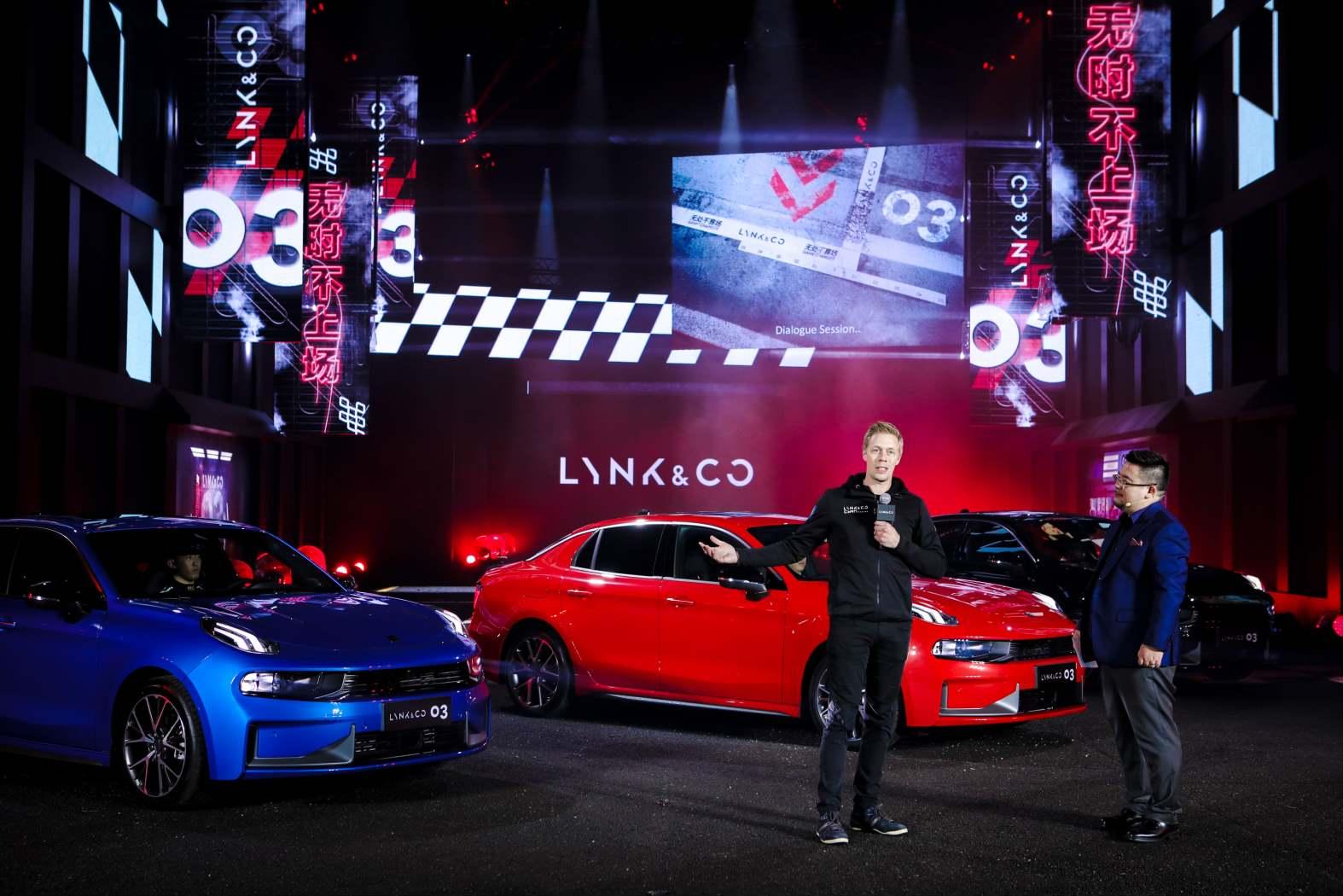 Lynk visar racingkoncept inför VM