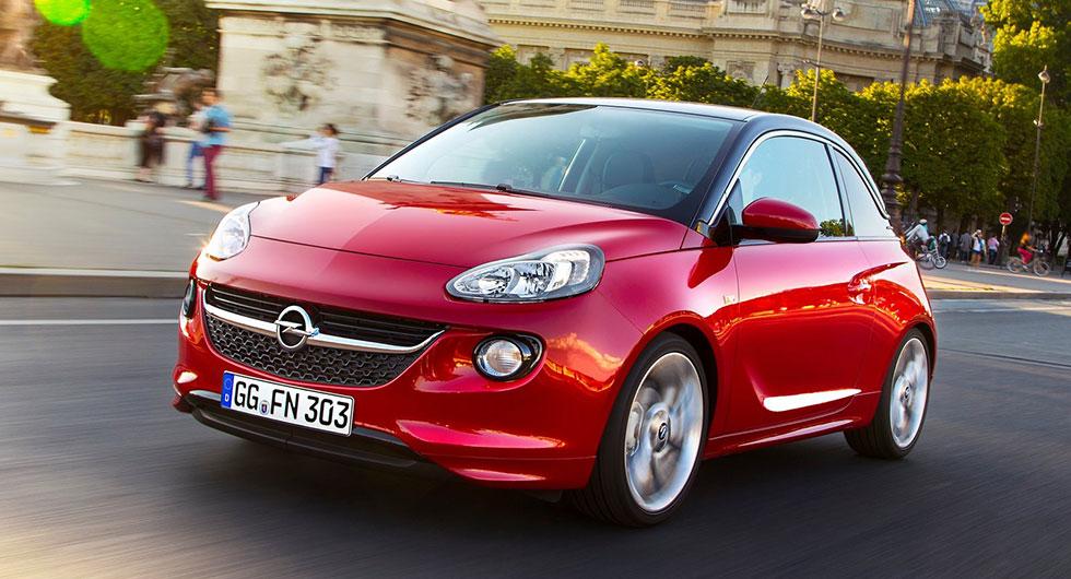 …likaså Opel Adam…