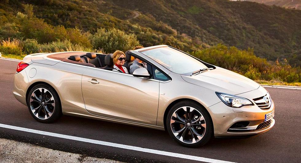 …och Opel Cascada.