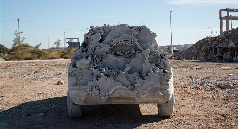 En Seat Arona på 15 ton