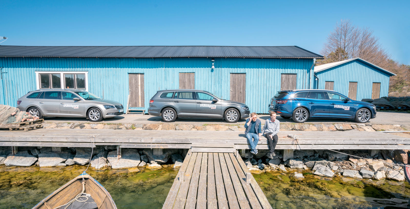 Test: Renault Talisman, Skoda Superb och Volkswagen Passat (2016)
