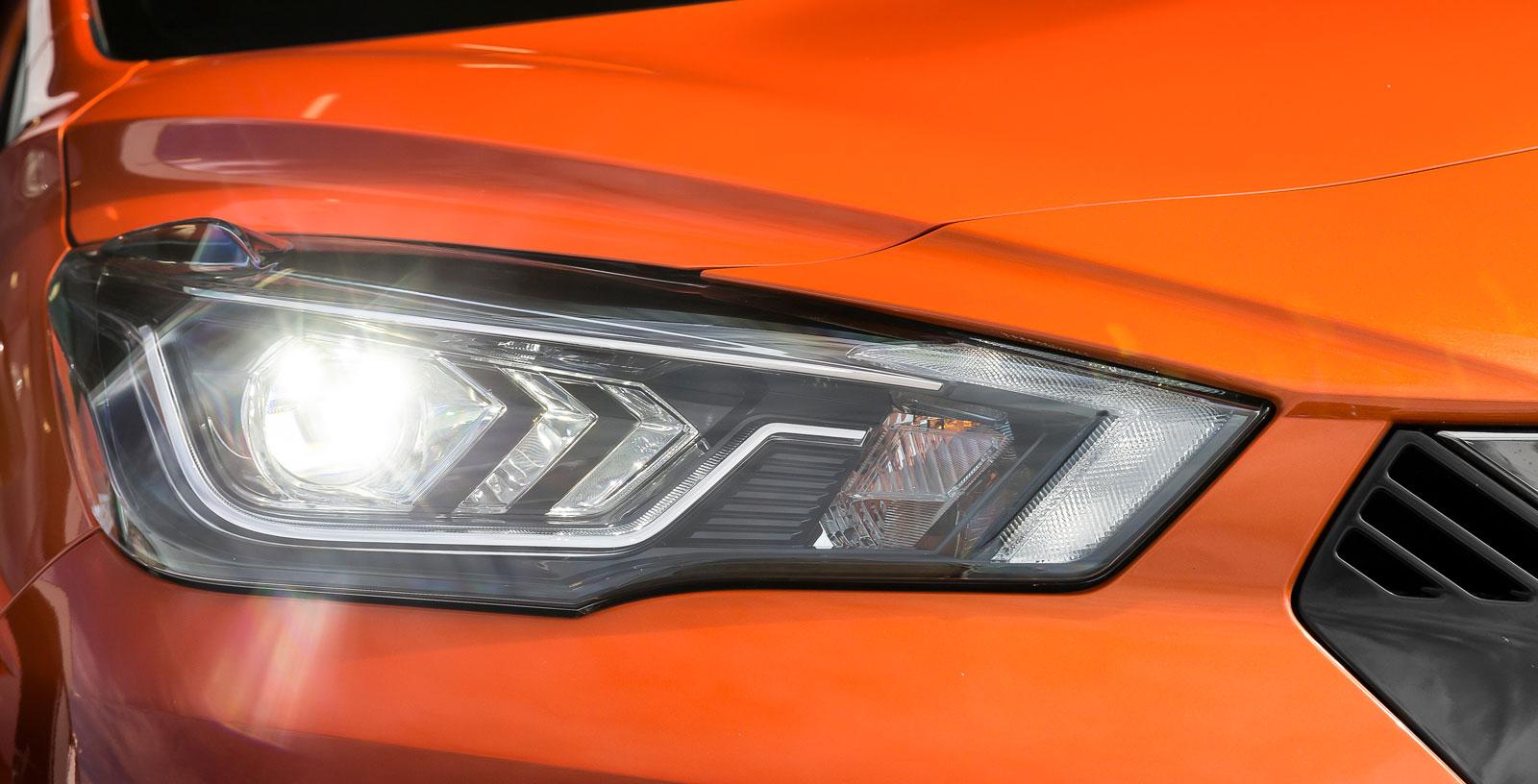 Micra är först i klassen – tillsammans med Ibiza – att erbjuda LED-strålkastare som tillval (+4000 kr).