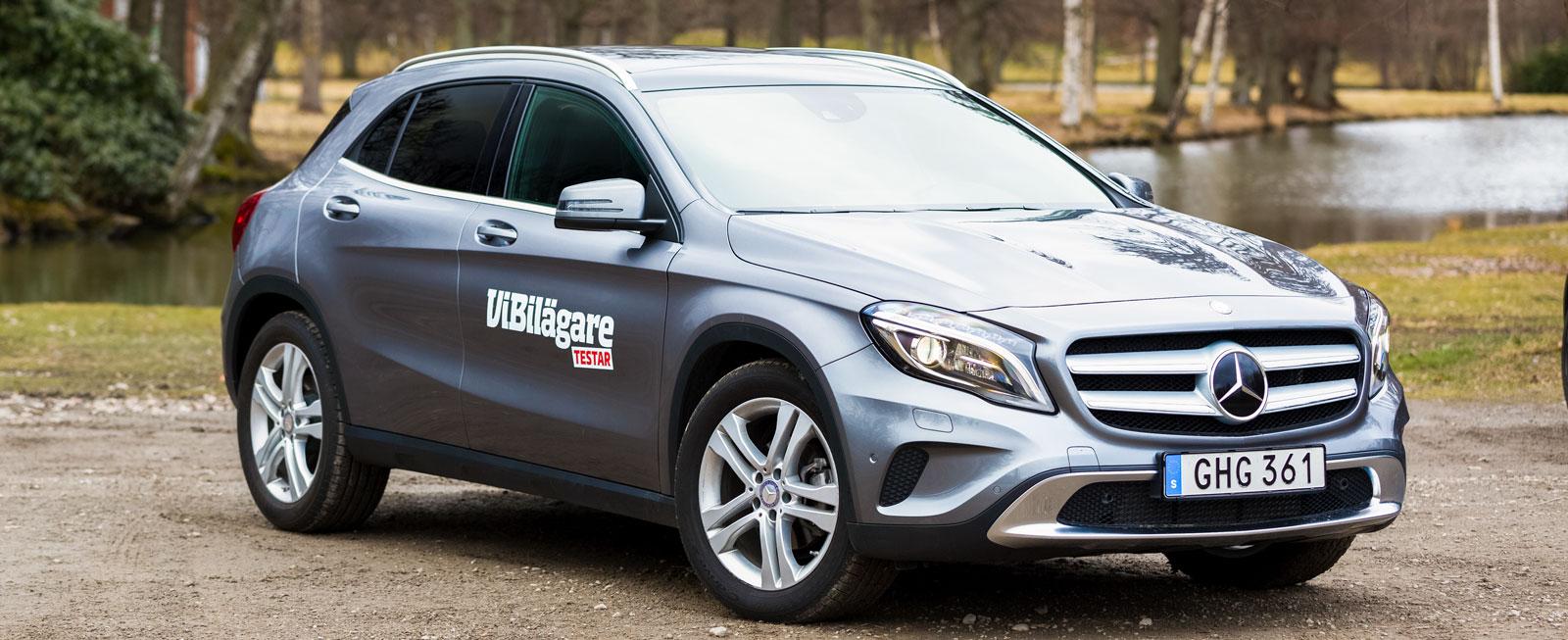 Mercedes GLA.