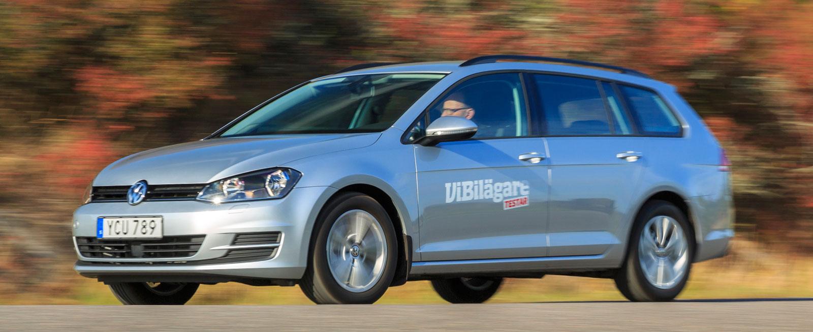 Test: Opel Astra, Renault Mégane och Volkswagen Golf (2016)