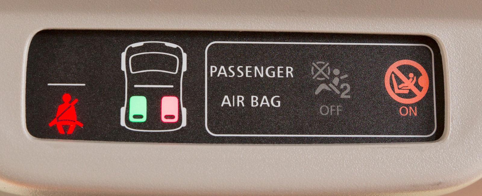 Smart har tydligaste indikeringen för om bilbälten används bak.
