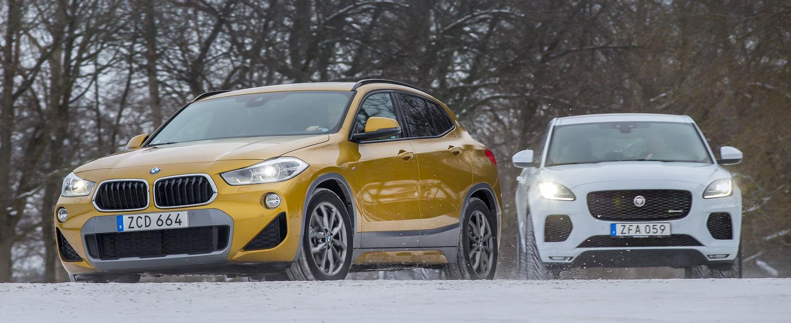 BMW X2 byggs i tyska Regensburg, Jaguar, som märkets första modell, hos Magna i Österrike.