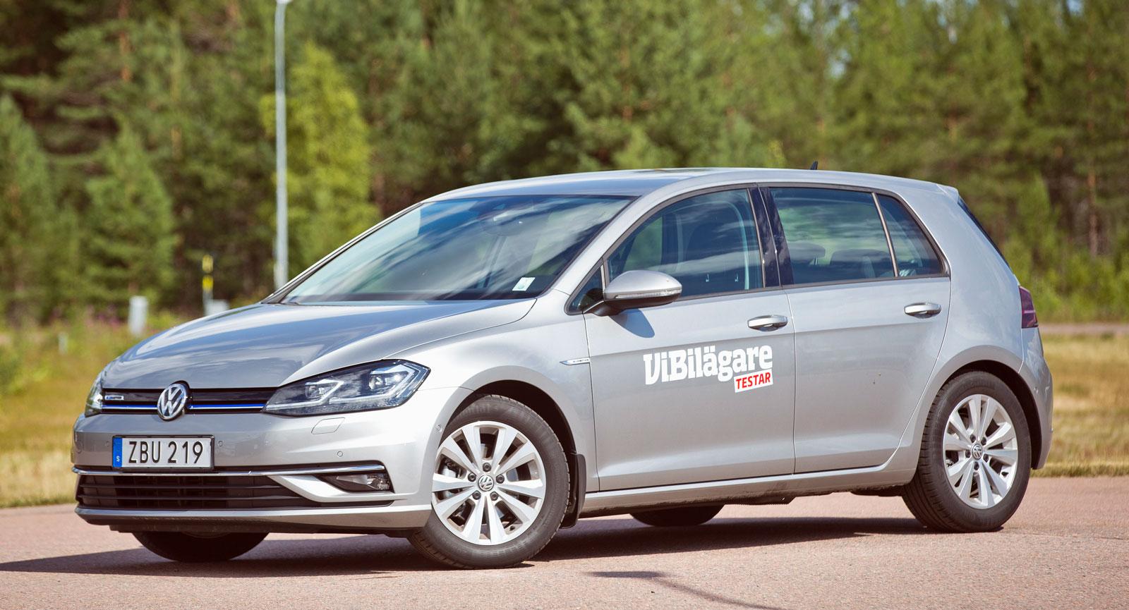 Test: Volkswagen Golf, Ford Focus och Kia Cee'd (2018)