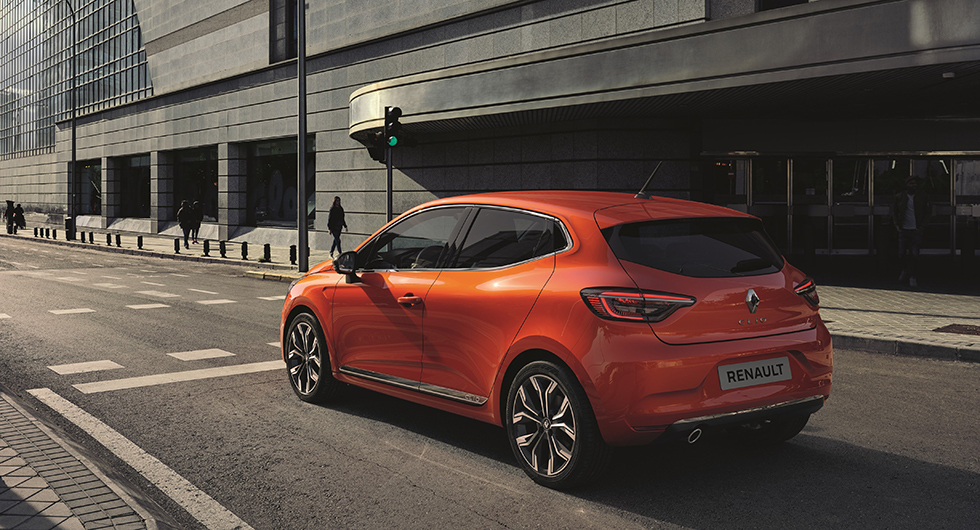 Renault Clio visar upp sitt yttre