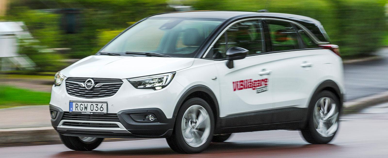Test: Opel Crossland X, SsangYong Tivoli och Renault Captur (2017)