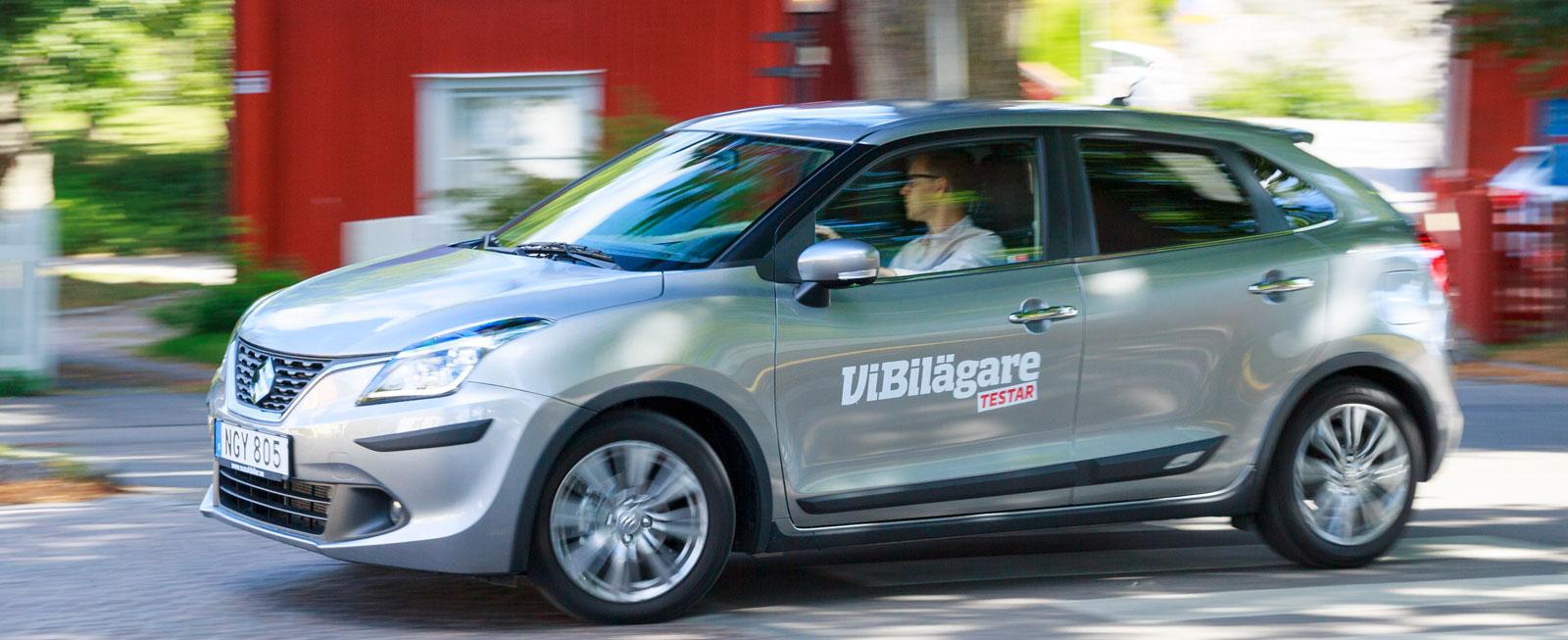 Test: Honda Jazz, Seat Ibiza och Suzuki Baleno (2016)