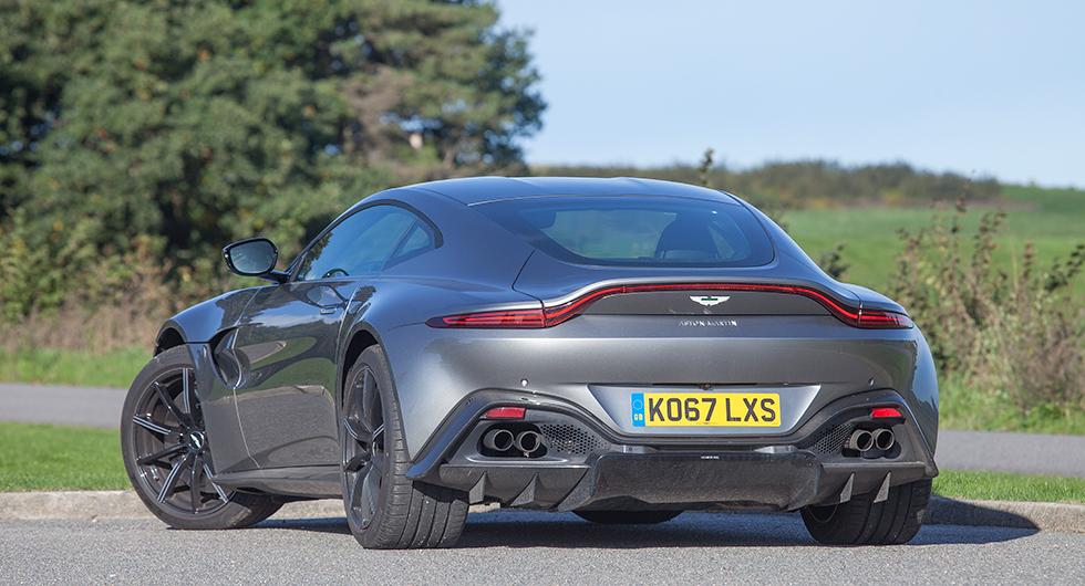 Provkörning: Aston Martin Vantage (2019)
