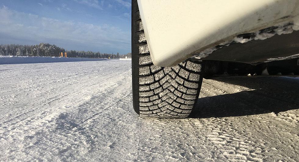 Vinterdäck med gummidubb – första intrycken