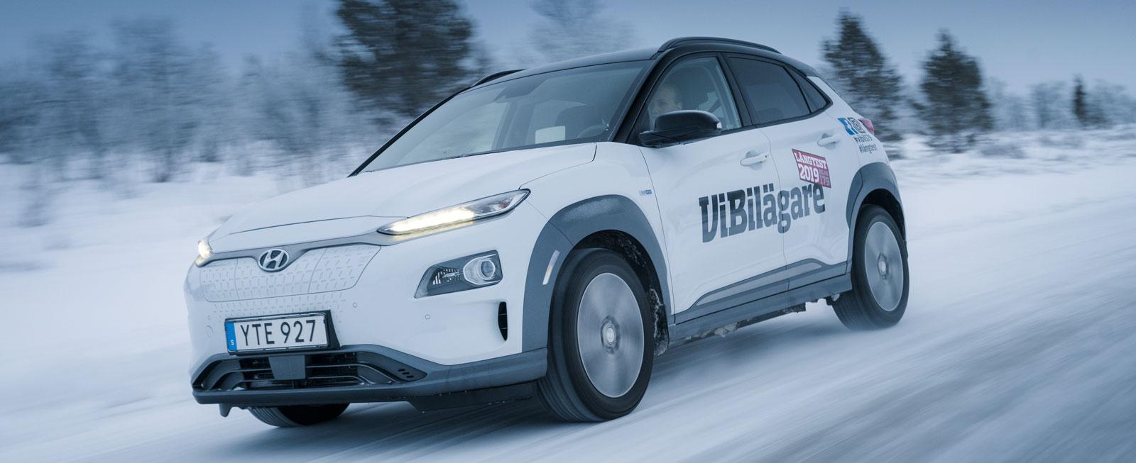 Vintertest 2019: Audi A6, Dacia Duster, Ford Focus, Hyundai Kona Electric & Volvo V60 (2019)