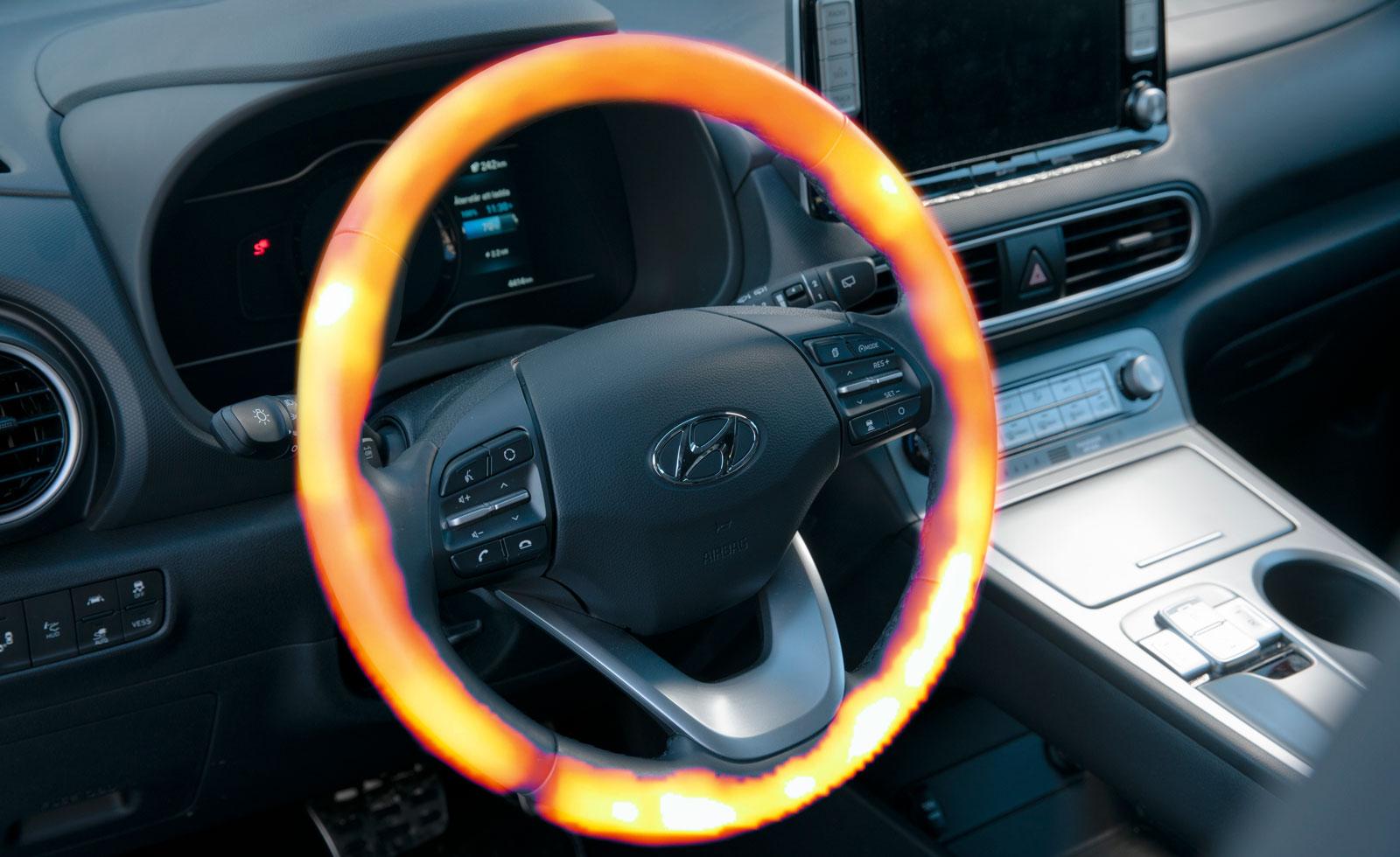Hyundai tog det lite lugnare och blev inte fullt så varm.