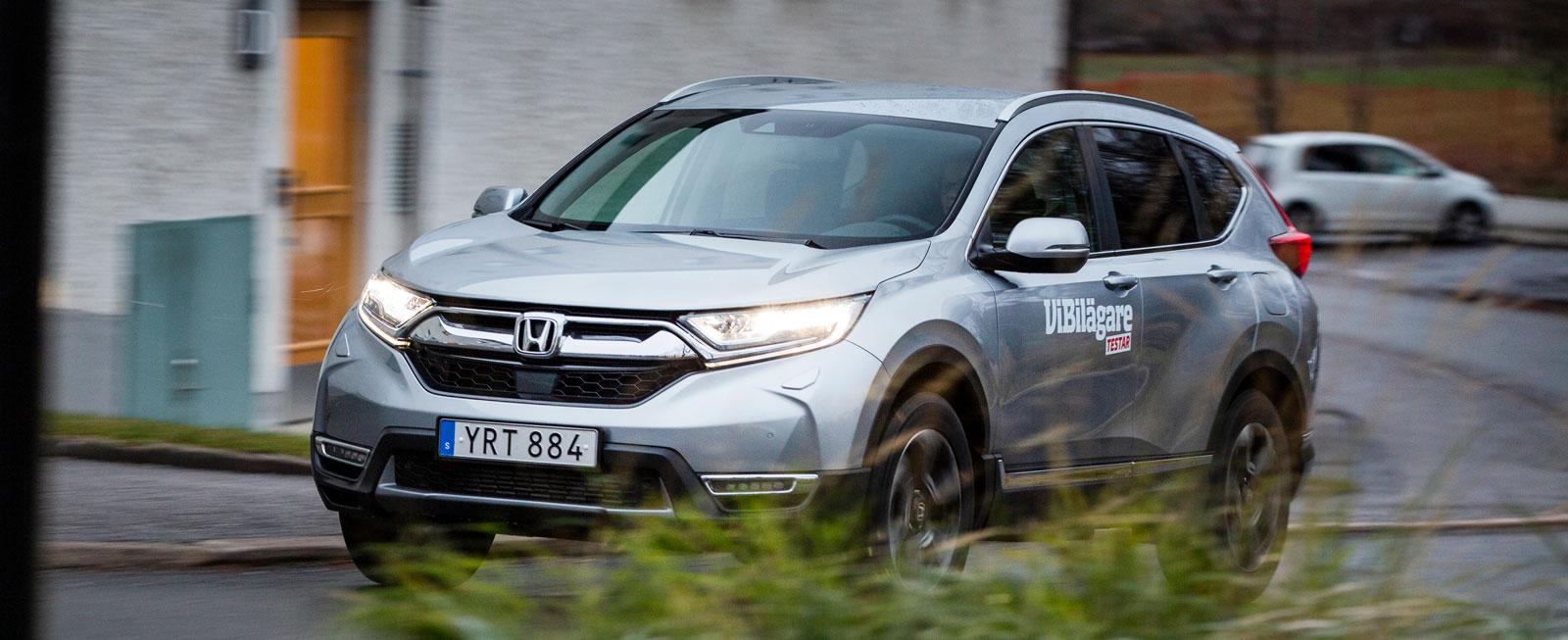 Honda CR-V 1,5 T AWD Lifestyle testvinnare.