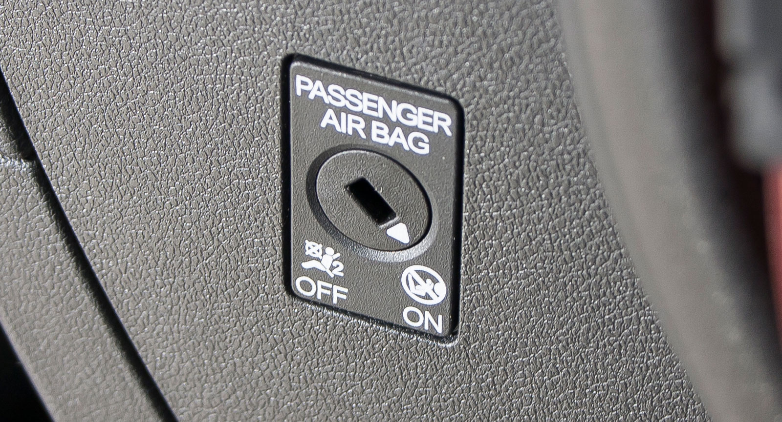 I volkswagen är det enkelt att slå på/av passagerarkrockkudden.