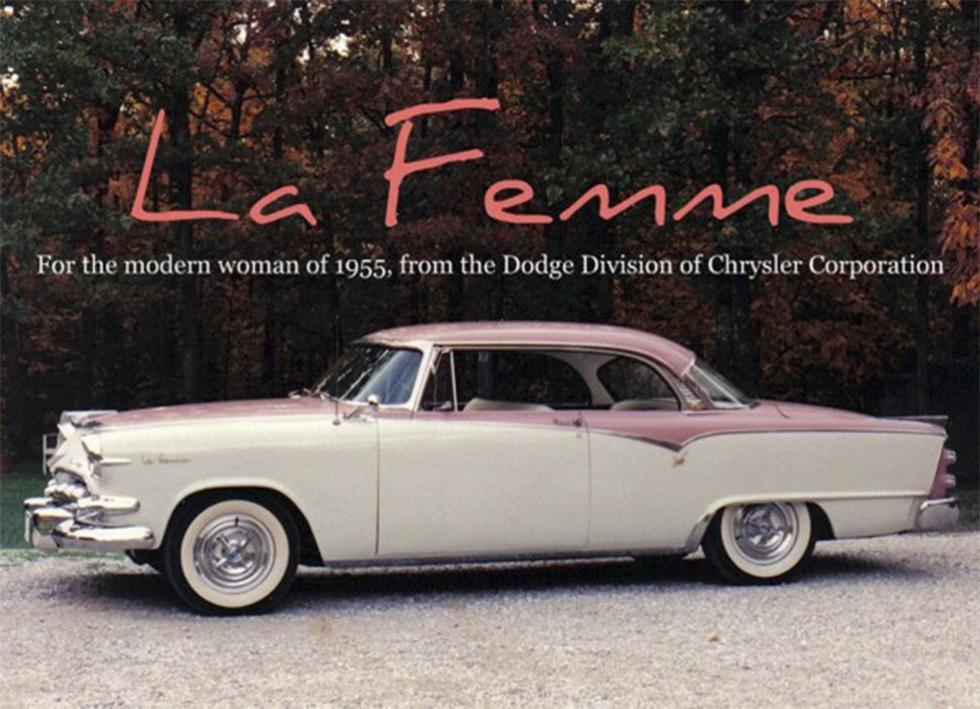 Dodge La Femme 1955.