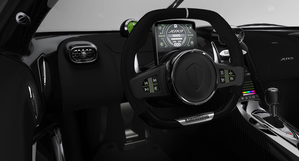 Jesko är Koenigseggs nya megabil