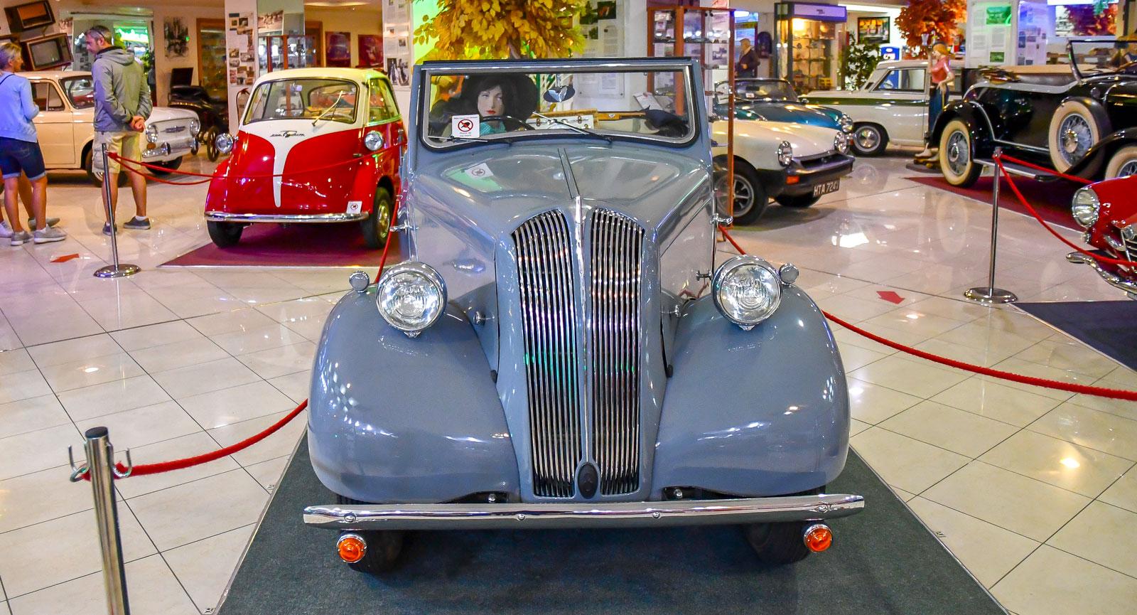 Malta Classic Car Collection har många godbitar i sin samling.