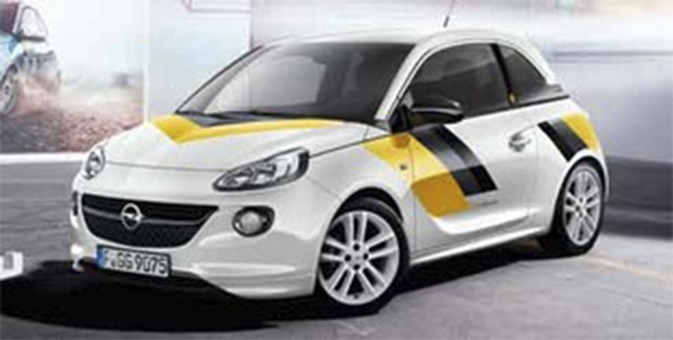 """Opel Adam i """"400-kit""""."""