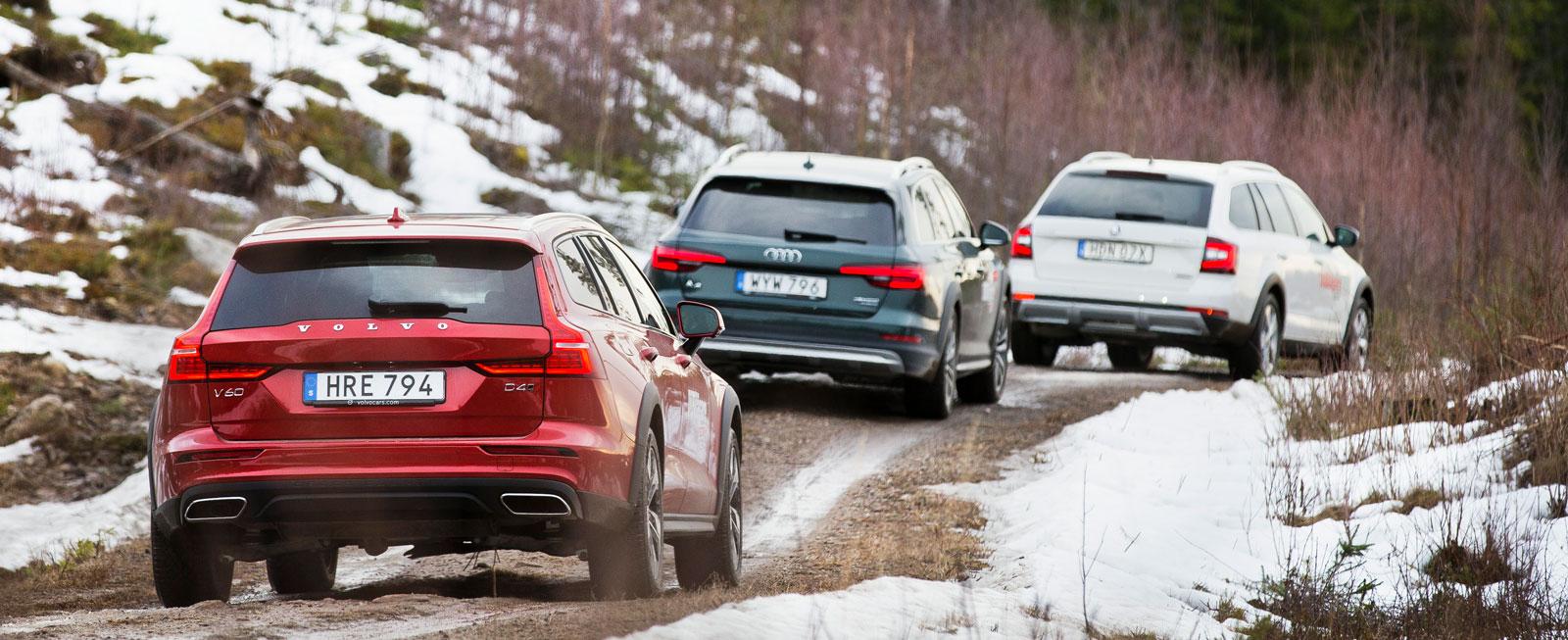 Vägen uppför Värmulls-åsen utanför Hagfors huserade Svenska Rallyt veckan innan testbilarna provade lyckan i leran.