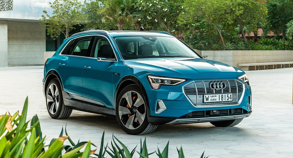 Audi e-tron – 2:a plats i World Car of the Year 2019.