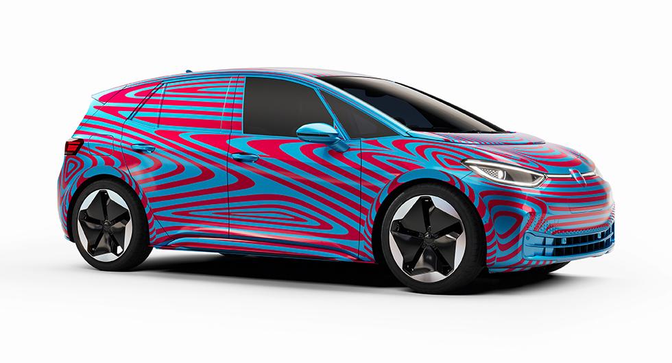 Volkswagens nya elbil ska heta ID.3