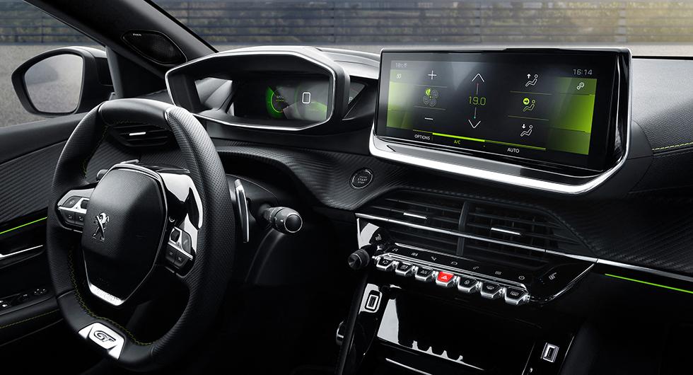 Peugeot 2008 får eldrift till årsskiftet
