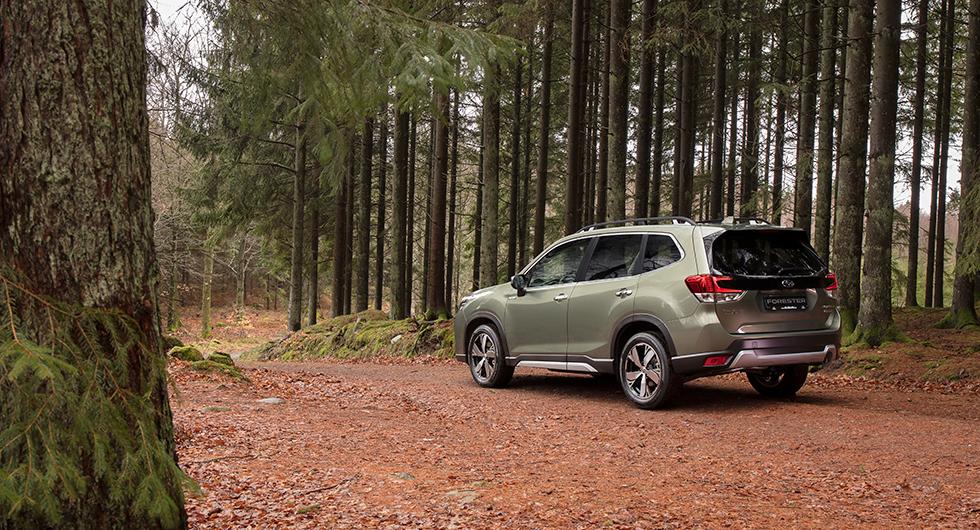 Provkörning: Subaru Forester (2019)