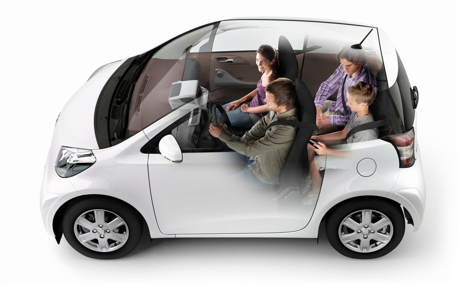 Fem uddamodeller till bilträffen 2035