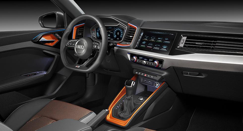 Audi A1 citycarver är snidad för stan