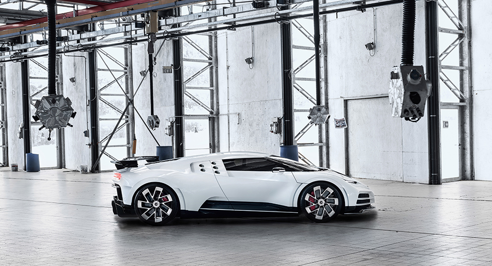 Bugatti Centodieci hyllar 1990-talet