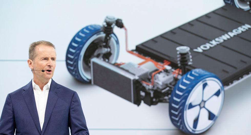 VW:s styrelseordförande, Herbert Diess har utlovat 70 nya elbilsmodeller till 2028 och totalt ska VW bygga 22 miljoner elbilar de kommande tio åren.