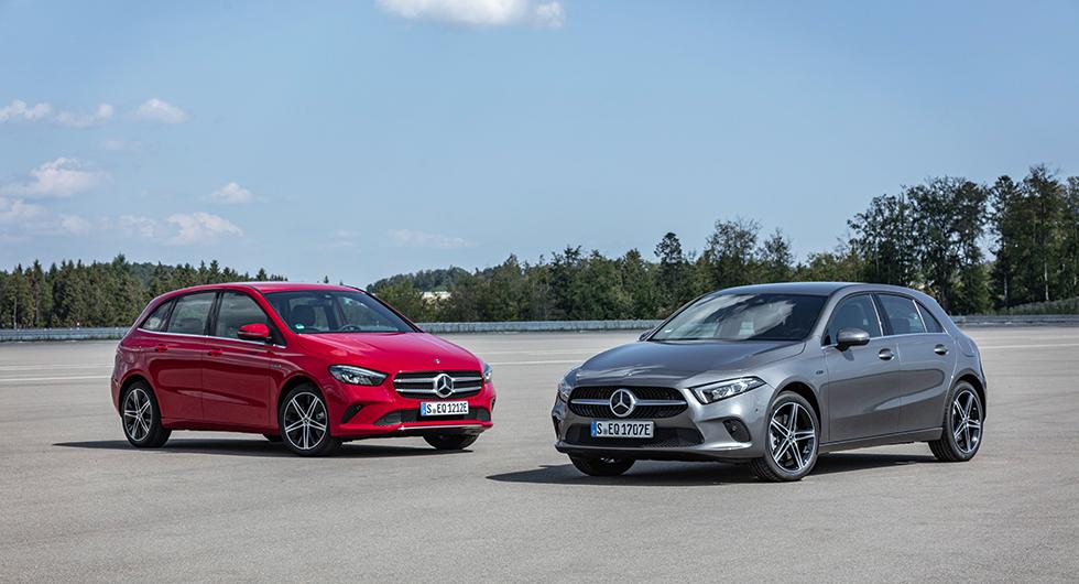 Mercedes A-klass och B-klass får sladd