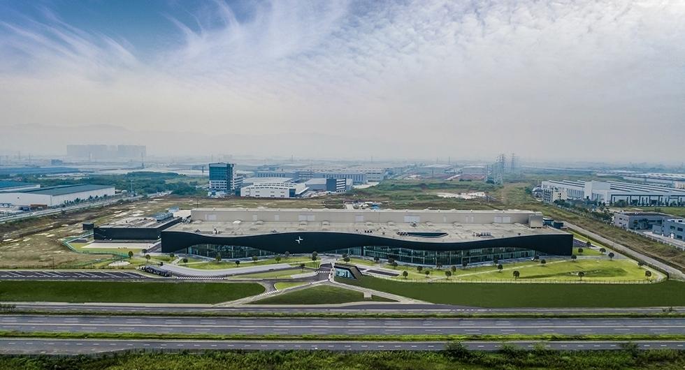 Nu byggs Polestarbilar i Kina