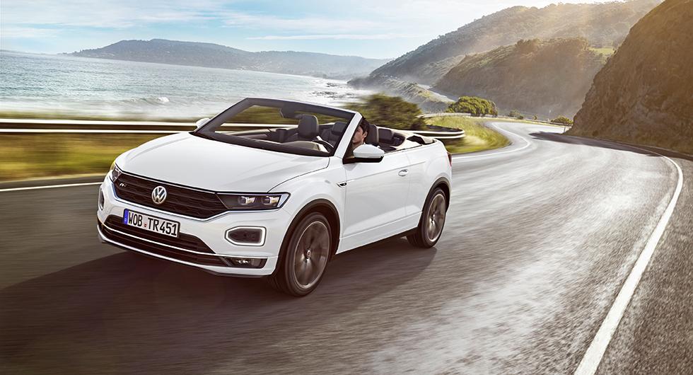 Volkswagen T-Roc som Cabriolet